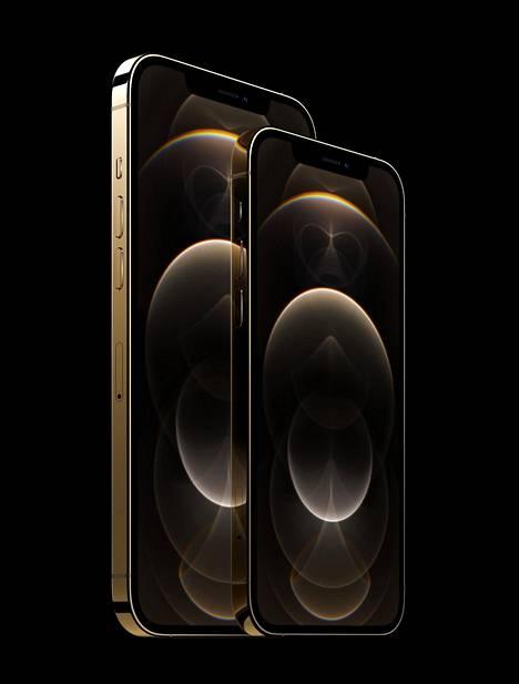 IPhone 12 Pro tulee 6,1 tuuman näytöllä ja iPhone 12 Pro Max 6,7-tuumaisella.