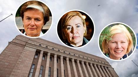 Entiset kansanedustajat Astrid Thors (rkp), Tuija Nurmi (kok), Marjo Matikainen-Kallström (kok) ovat nostaneet etuuksia, vaikka omaavat vakaan toimeentulon.