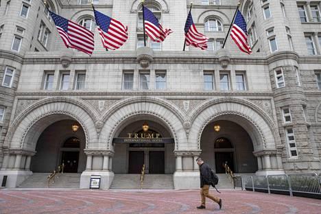 Washingtonissa Trump International -hotellin tulot ovat romahtaneet.