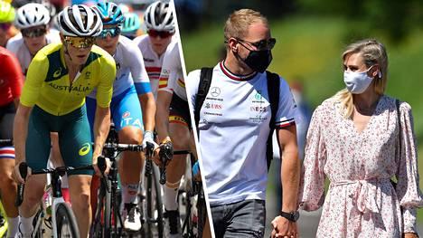 Valtteri Bottaksen tyttöystävä, australialainen Tiffany Cromwell oli tyytyväinen omaan suoritukseensa sunnuntaisessa Tokion olympialaisten maantieajossa.