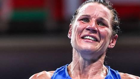 Mira Potkosen upea nyrkkeilyura päättyi olympiapronssiin.