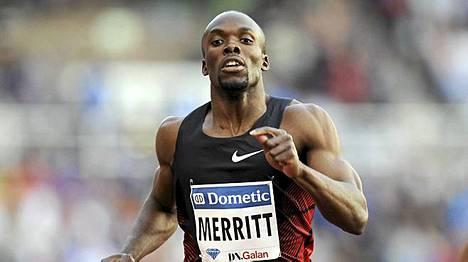 LaShawn Merritt juoksi kovaa paluukisassaan.