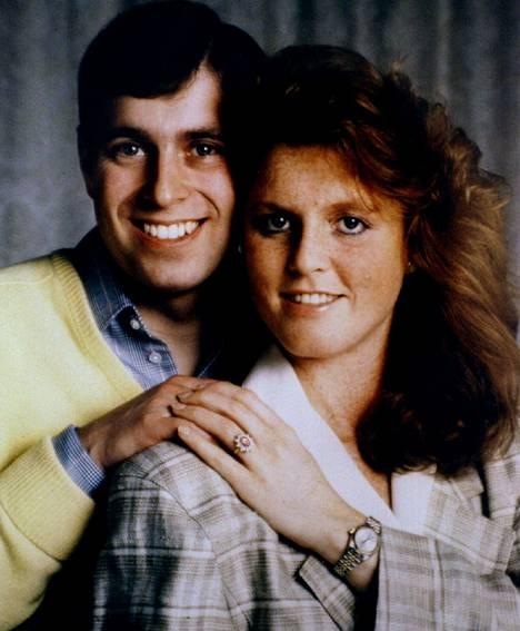 Andrew ja Sarah ihastuivat toisiinsa vuonna 1985.