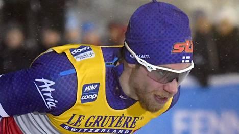 Joni Mäki yllättyi siitä, että oli perjantaina selvästi paras suomalainen hiihtäjä.