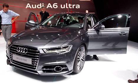 Audi A6 on saanut puolivälin kasvojenkohotuksen. Moottoreista pihein on nyt 114 grammaa päästävä 2,0 TDI Ultra.
