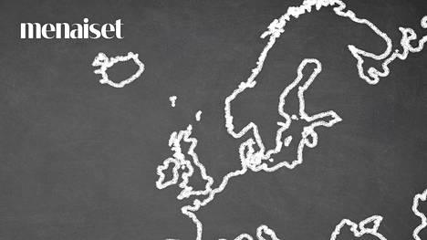 Saatko edes 5 oikein? Testaa, tunnistatko Euroopan maat pelkän muodon perusteella!