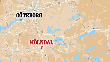 Välikohtaus tapahtui Mölndalin HVB-asuntolassa. Veitsellä aseistautunut mies tavoitettiin asuntolasta.