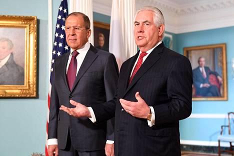 Lavrov matkusti Washingtoniin alun perin tapaamaan Rex Tillersonia.