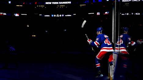 Kaapo Kakko on Rangersin kirkkain tulevaisuuden lupaus.