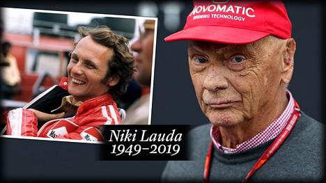 Niki Laudan ulkonäkö turmeltui vuoden 1976 onnettomuudessa.