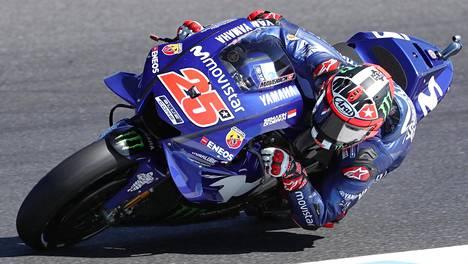 Maverick Vinales päätti MotoGP:ssä Yamahan voitottoman jakson