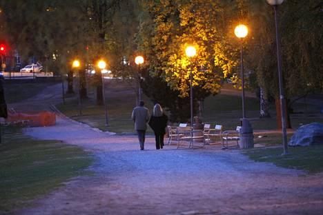 Raisan näköinen tyttö oli nähty illalla myös Koskipuistossa.