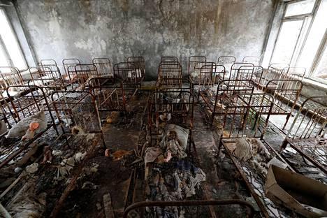 Aika pysähtyi lastentarhassa Prypjatissa vuonna 1986.