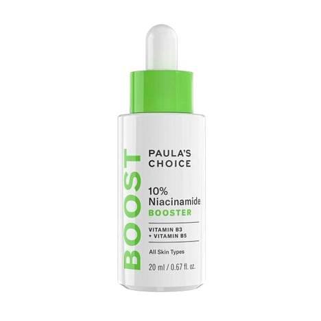 Paula's Choice -brändin ihonhoitotuotteita kiitellään maailmalla. Suomeen merkin tuotteita saa tilattua Skincityltä. Niacinamide Booster, 48 €.