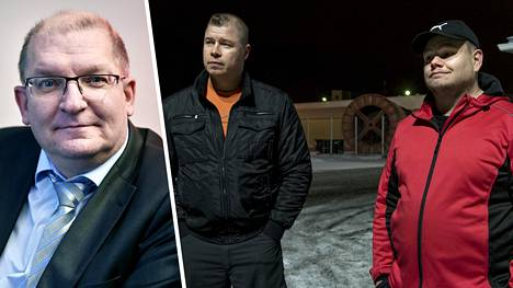 Esko Rankinen ja Antti Matala kommentoivat Riku Aallon (vas.) ja muiden Teollisuusliiton johtajien palkankorotuksia.