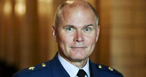 Puolustusvoimain komentaja, kenraali Jarmo Lindberg.