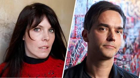 Kirjailija Riikka Pulkkinen ja Tommi Saarikivi saivat tyttövauvan.