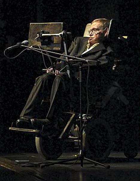 Stephen Hawking on yksi maailman johtavista teoreettisista fyysikoista.