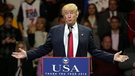 Donald Trump on muun muassa luvannut julkistaa verotietonsa ja järjestää lehdistötilaisuuden. Toistaiseksi näin ei ole tapahtunut.
