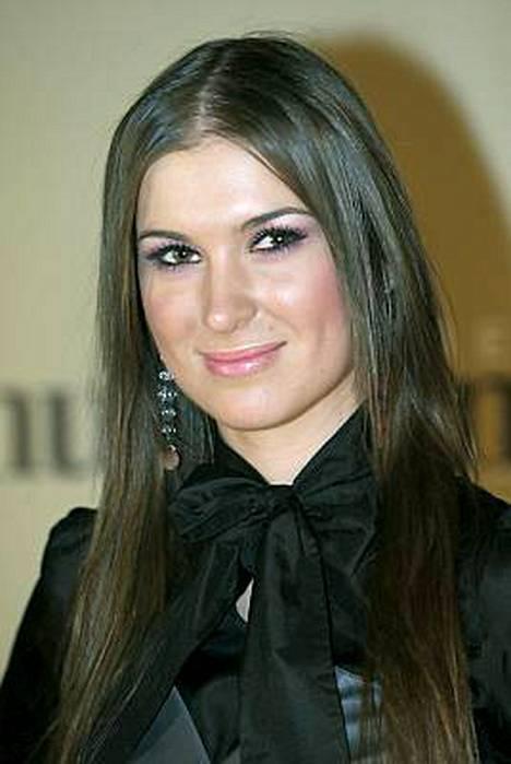 Anastassia Grishina haluaa huippumalliksi.