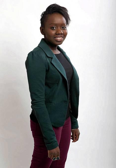 Voice of Finlandin avausjaksossa kilpailee Olivia Amupala, 22-vuotias kulttuurituotannon opiskelija Turusta.