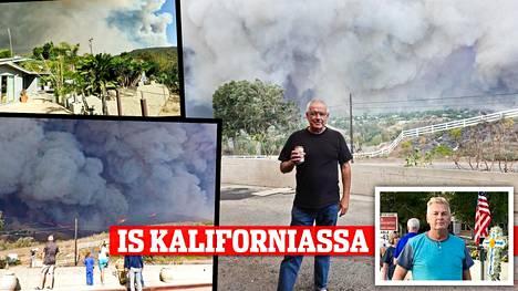 Liikemies Heikki Ketolan talo paloi Malibussa.