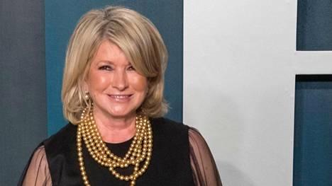 Martha Stewart viettää 80-vuotissyntymäpäiväänsä.