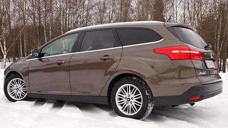 Riita kuluttajan ja autoliikkeen välillä koski tämänkaltaista Ford Focusta.