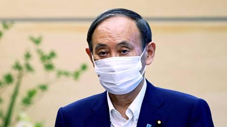 Yoshihide Sugan pesti pääministerinä päättyy lyhyeen.