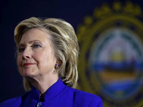 Hillary Clinton vaalikiertueella New Hampshiressa 11. elokuuta 2015.