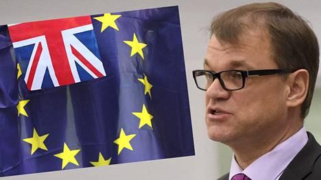 Pääministeri Juha Sipilä toivoi, että Britannian kansalaiset olisivat päättäneet pysyä EU:ssa.
