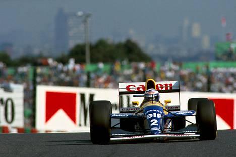Alain Prost halusi Williamsille keinolla millä hyvänsä ja sinne myös pääsi.