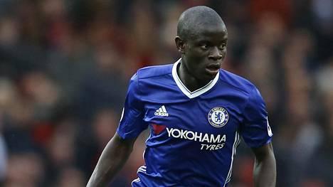 N'Golo Kante on pelannut vakuuttavan kauden Chelsean keskikentällä.