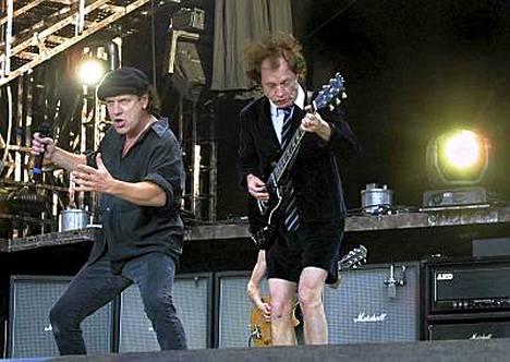 AC/DC keikkaili Suomessa viime kesänä.