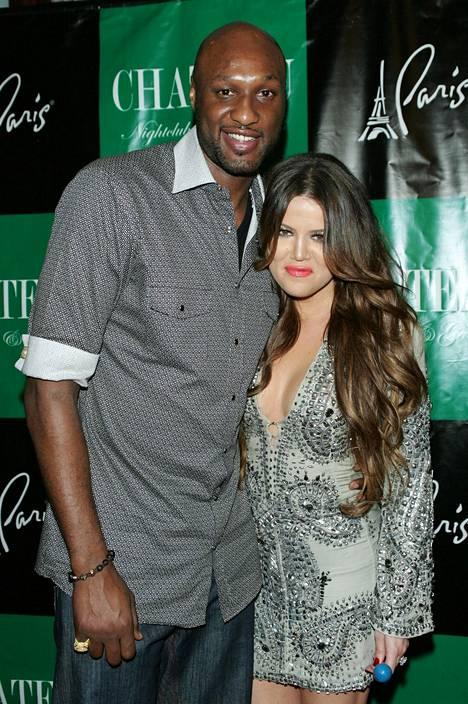 Khloé ja Lamar vielä silloin, kun kaikki oli hyvin.