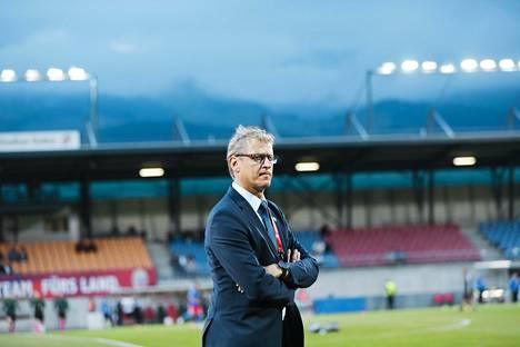 Markku Kanerva on säätänyt Suomen peliä pala palalta parempaan kuntoon.