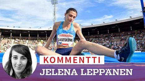 Venäjän yleisurheilun kirkkain tähti Maria Lasitskene on ollut syvästi pettynyt maan urheilupomojen toimintaan.