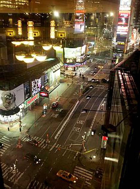 Poliisi on eristänyt osan Times Squaren alueesta.
