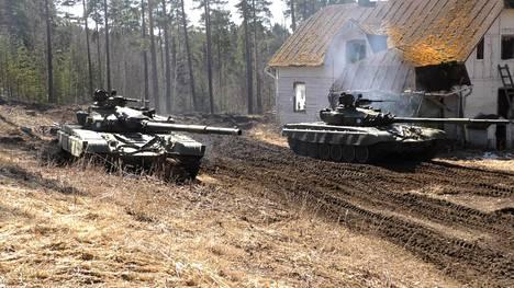 T-72-vaunut olivat Panssariprikaatin peruskalustoa ennen Leopard 2 -vaunuja.