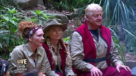 Brittiläisessä tosi-tv-sarjassa seurataan julkisuudesta tuttuja henkilöitä viidakossa.