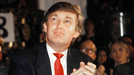 Donald Trump kuvattuna vuonna 1989.
