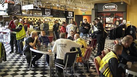 Kuvassa Lahden Ace Cafe -ravintola.