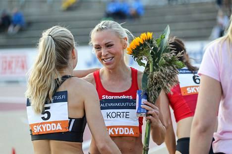 Annimari Korte otti 2020 Turussa ensimmäisen aikuisten Suomen mestaruutensa. Kyseisistä kisoista hän muistaa vähintään yhtä kirkkaasti dopingtestinsä aiheuttaman jälkipyykin.
