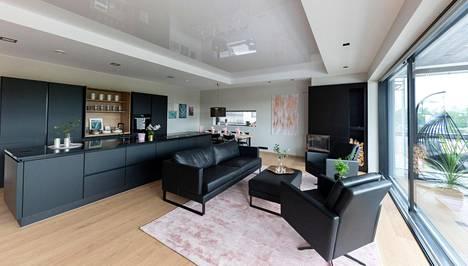 Asuntomessujen kauneimmat keittiöt – hittikeittiö on nyt musta ja avoin