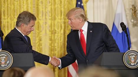 Presidentti Niinistö tapasi Donald Trumpin Valkoisessa talossa edellisen kerran elokuussa 2017.