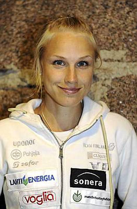 Minna Kauppi johti suomalaisnaisten rynnäkköä EM-finaaliin.