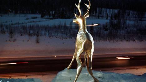 Kultainen kauris on Viitostien tunnetuimpia maamerkkejä.