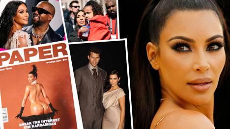 Kim Kardashianin voi sanoa olevan yksi maailman tunnetuimmista naisista. Hän on kerännyt 13 vuodessa valtaisan omaisuuden.