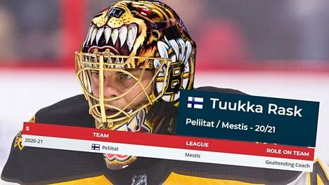 Tuukka Rask on tehnyt komean uran Boston Bruinsissa.