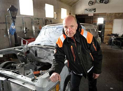 Kierrätysalan yrittäjä Sheikki Laakso tunnetaan Kouvolassa Romuralleista, joita on järjestänyt 25 vuotta eri puolilla Suomea.